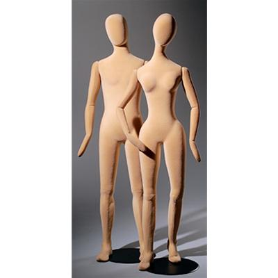 Slim Line PVC Mannequins Without Features