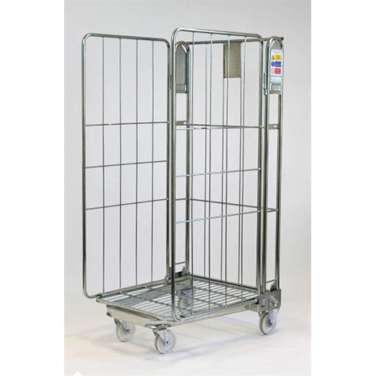 Stock Trolley 3 Sided - Nestable