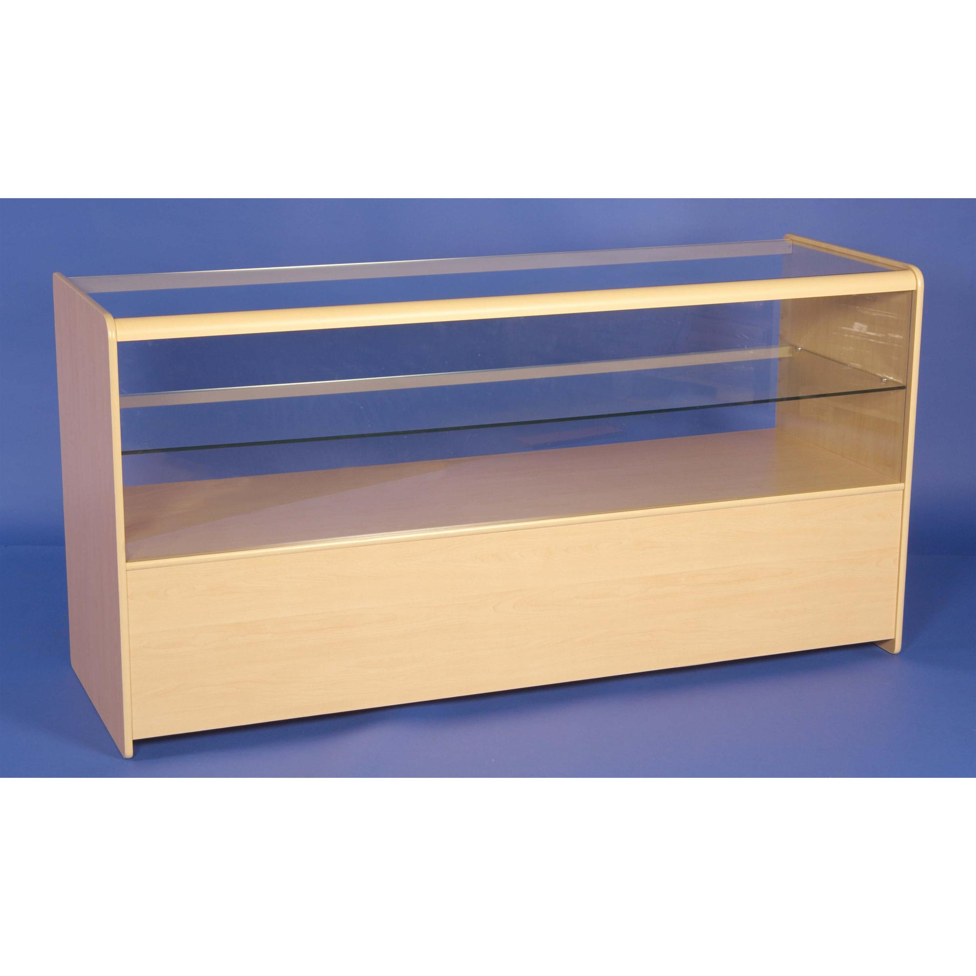 Flat Packed Half Glass Counter