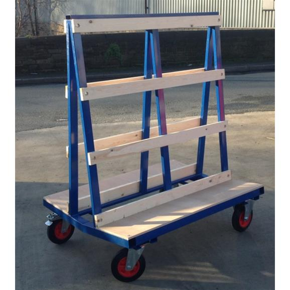 Glass Trolley 1200mm Long