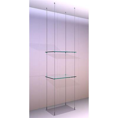 Ceiling/Floor Shelving Kit A2 Shelves x 2 High