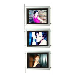 Freestanding Digital Screen Kit 3 x 17