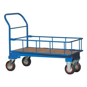 Cash & Carry Trolley With Safety Cage