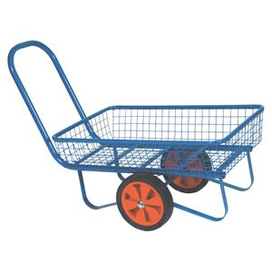 Powder Coated Garden Centre Trolley In Green or Blue