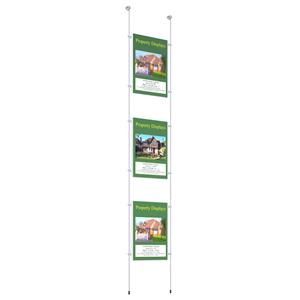 3 x A4 Pocket Poster Kit