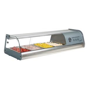Refrigerated Topping Shelf