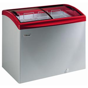Sliding, Curved and Angled Lid Chest Freezer