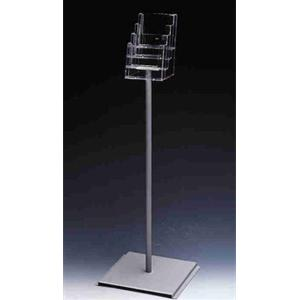 4 X A5 FREESTANDING MULTI-TIERED BROCHURE HOLDER