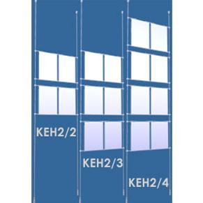 Ceiling To Floor Poster Kit A4 x 2 Column Kits