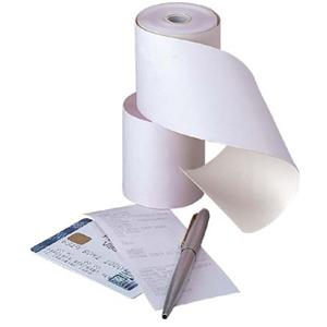 1 PLY Credit Card Machine & Till Thermal Rolls  (1 LEAF)