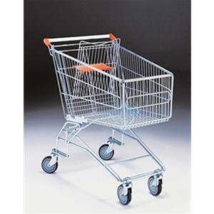 Supermarket Shopping Trolley 160 Litre With Anti-Theft Castors