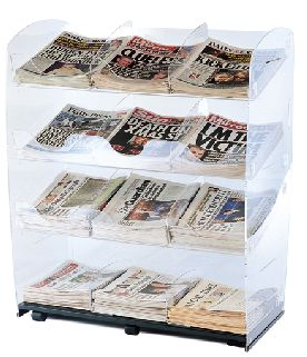 Newspaper Magazine Card Stands
