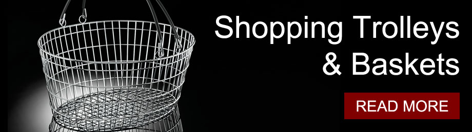 Shopping Baskets & Trolleys